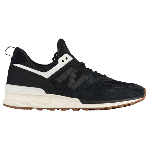 New Womens New Balance 574 Sport - Black/Angora