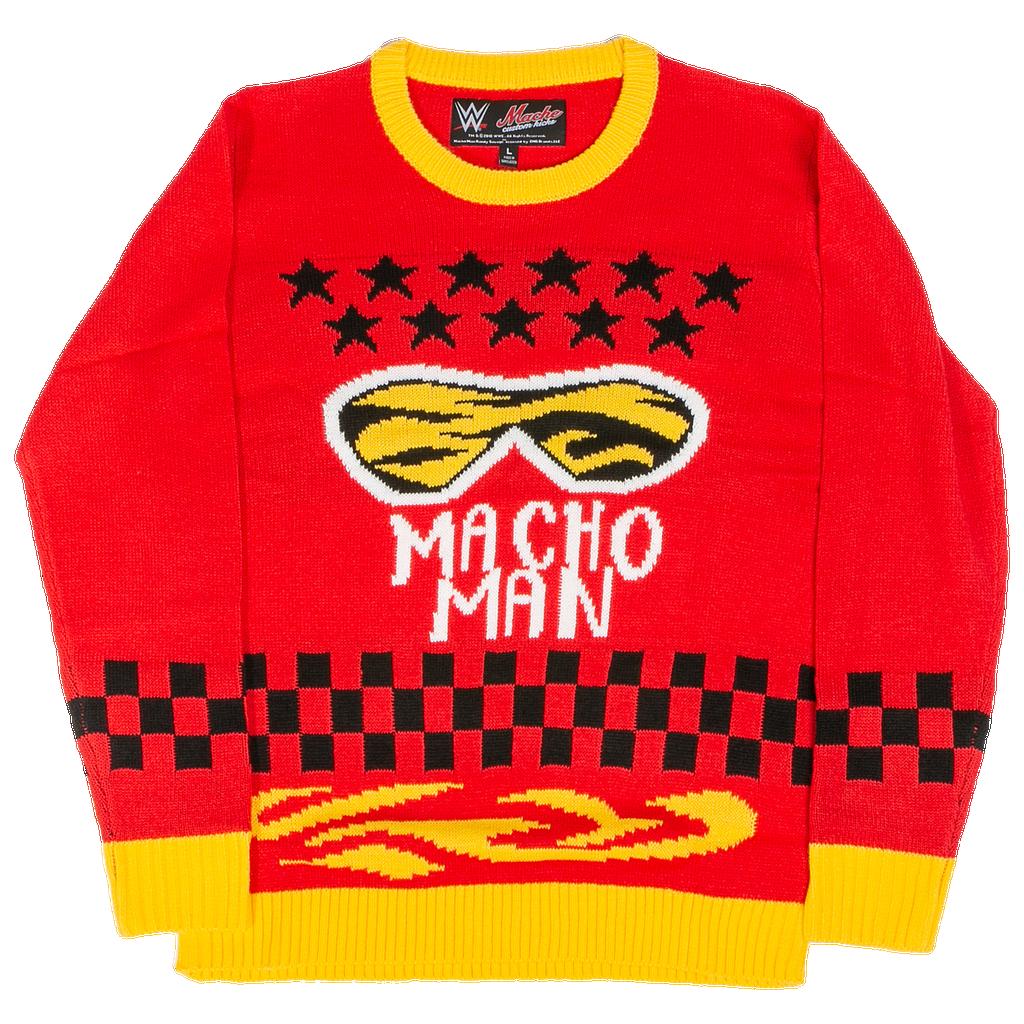 Ripple Junction Macho Man Ugly Christmas Sweater by Foot Locker