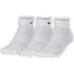 Nike 3 Pk Performance Cushioned Quarter Socks - Women's