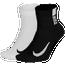 Nike Multiplier 2 Pack Quarter Socks