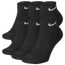 Nike 6 PK Dri-FIT Cotton Low Cut Socks - Men's