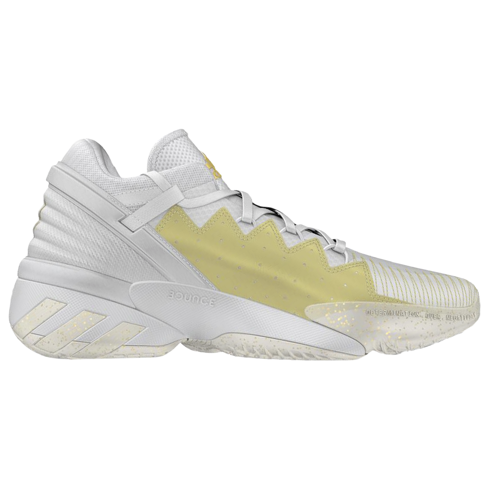 adidas D.O.N. Issue #2 - Boys Grade School / Donovan Mitchell | White/Metallic Gold