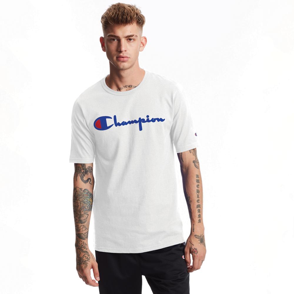Champion Heritage T-Shirt - Mens / White