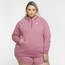 Nike Plus Size Essential Quarter-Zip Hoodie - Women's