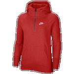 Nike Essentials 1/4 Zip Hoodie-Plus Size - Women's