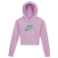 Nike Air Cropped Hoodie - Girls' Grade School