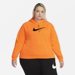 Nike Swoosh Fleece Hoodie-Plus Size - Women's