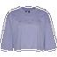Nike Iridescent Crop T-Shirt - Women's