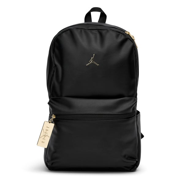 Jordan Faux Leather Backpack - Unisex Bags