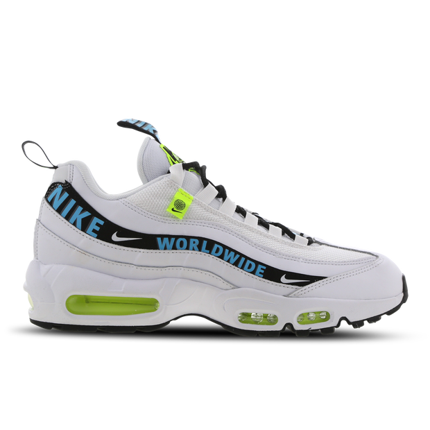 Nike Air Max 95 - Chaussures Homme - Blanc - Cuir - Taille 7 - Foot Locker