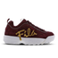 Fila Disruptor II Script Distressed - Women Shoes