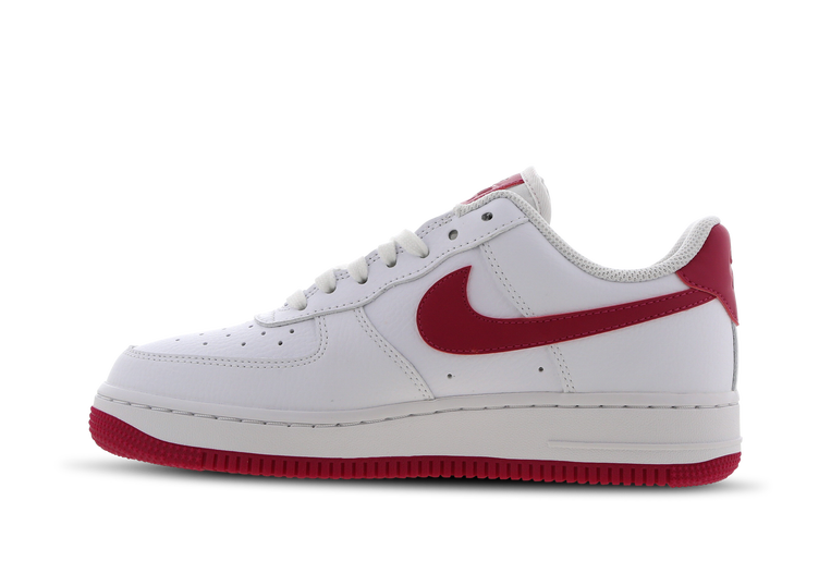air force 1 femme nike rouge
