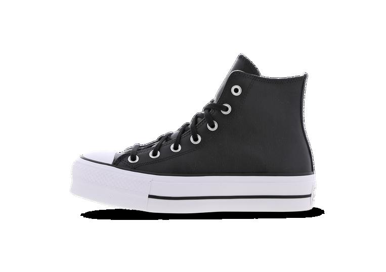 Converse Chuck Taylor All Star Platform High Leather - Dames Schoenen