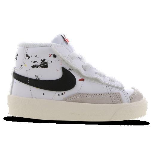 Nike Blazer Mid - White Black White