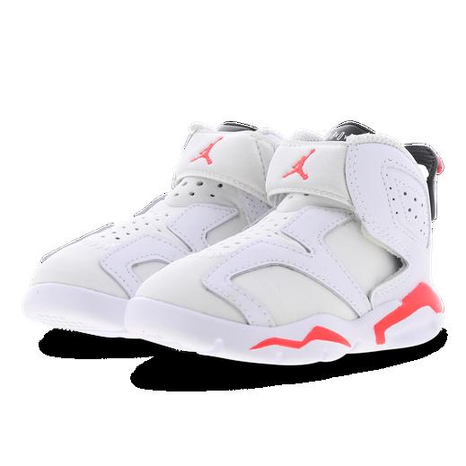 Jordan 6 Retro - White Infrared 23 Black