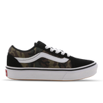 Vans Old Skool Woodland Camo - Pre School Shoes