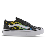 Vans Old Skool Glow Flame - Pre School Shoes
