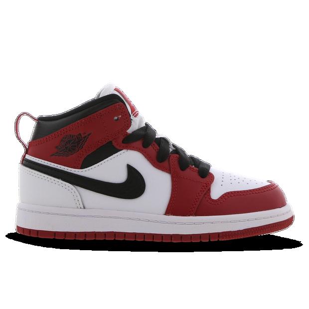 Jordan 1 Mid - voorschools Schoenen