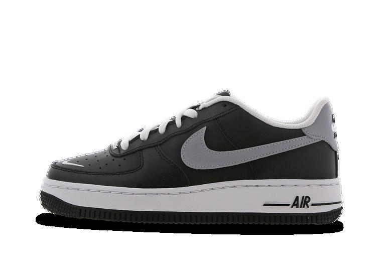 air force 1 noir swoosh