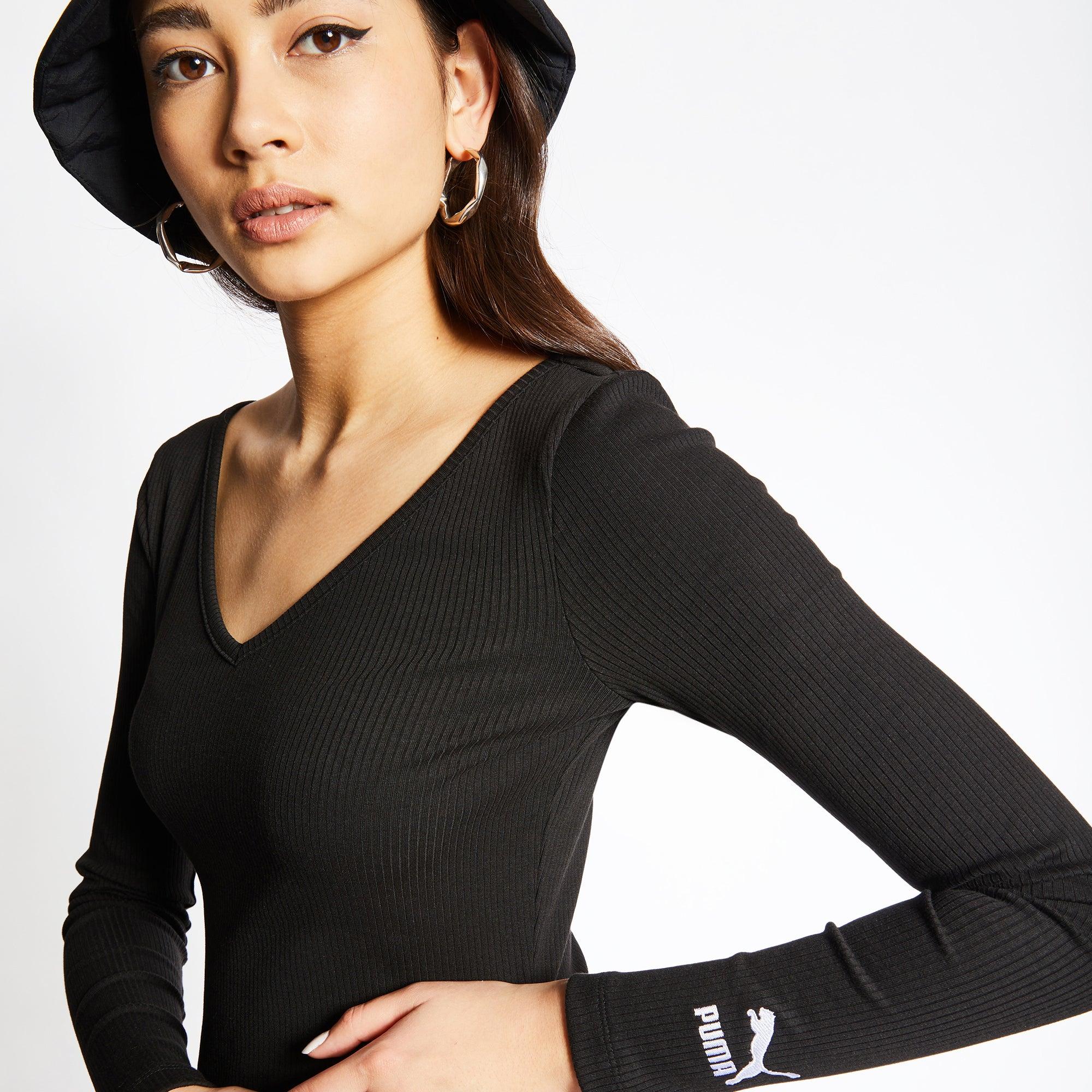 Puma Classic Rib Bodycon - Women Dresses - Image 1 of 4 Enlarged Image