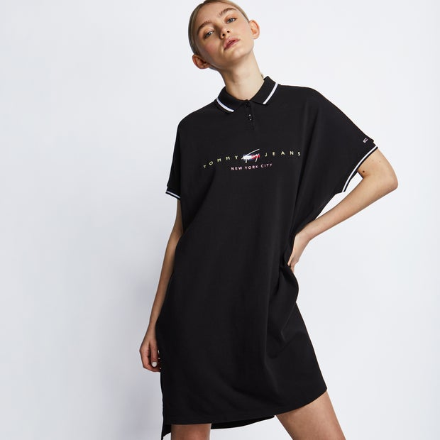 Tommy Jeans Dress Damen Kleider