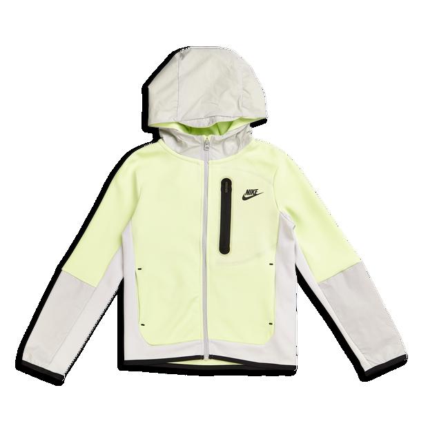 Nike B Nsw Tch Flc Fz Wvn Hd Mix Grundschule Jackets