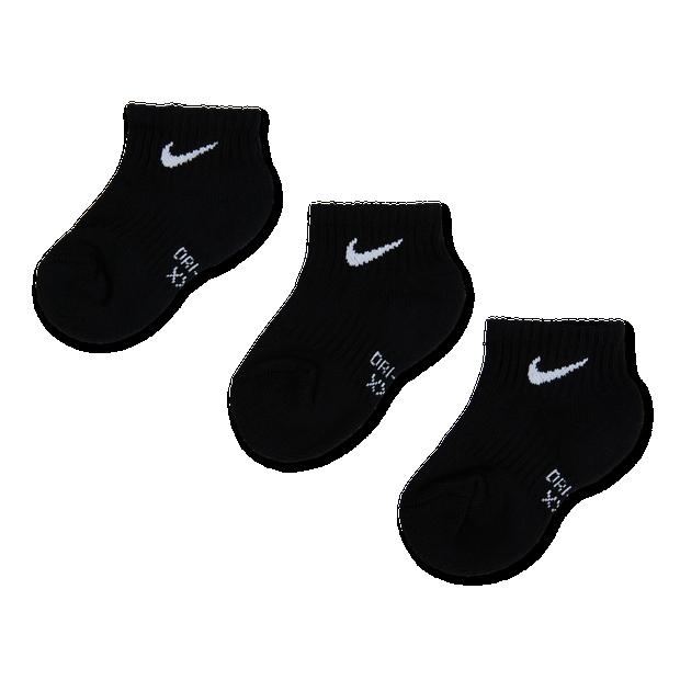 Nike Kids Drifit Performance Ankle 3Pack - Unisex Socks