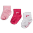 Nike Kids Swoosh Ankle No Slip 3Pack - Unisexe Chaussettes