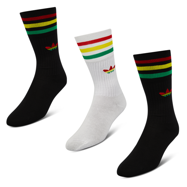 adidas Rasta 3Pack Crew - Unisex Socks