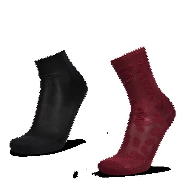 Nike Sheer Leopard 2Pack Ankle - Unisex Socks