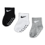 Nike Kids No Slip 3Pack Ankle - Unisex Socks
