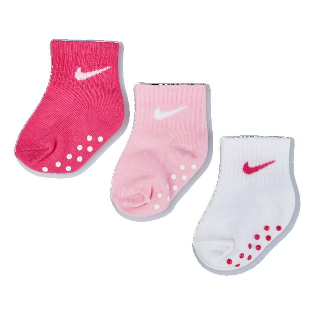 Nike Kids No Slip 3Pack Ankle - Unisex Socks