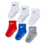 Nike Kids 6Pack Ankle - Unisexe Chaussettes