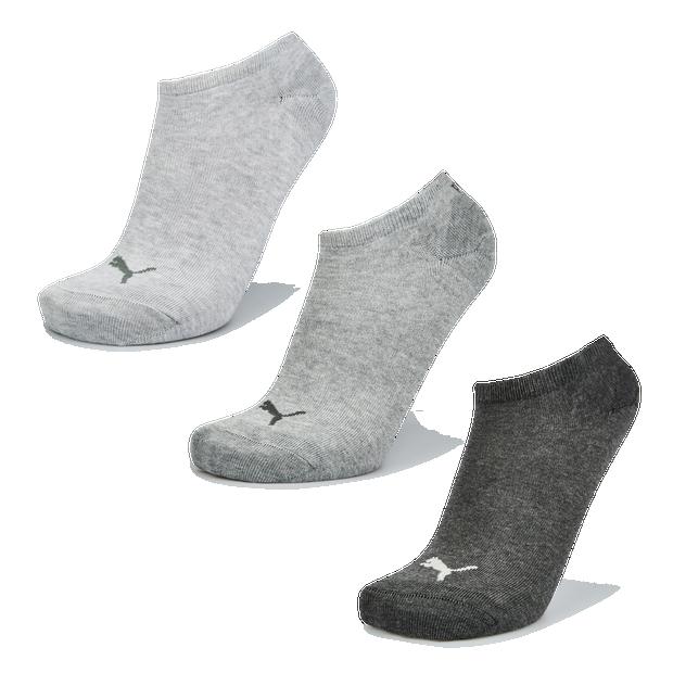 Puma Sneaker Plain 3Pack Mix 39-42 - Unisex Socks