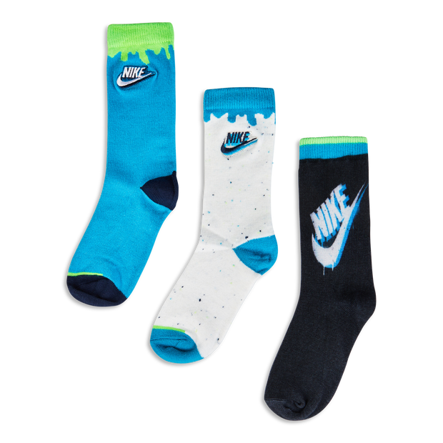Nike Kids Graphic 3Pack Crew - Unisex Socks