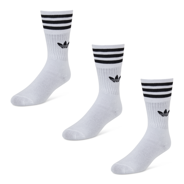 adidas Originals 3 Pack Trefoil Crew - Unisex Socks