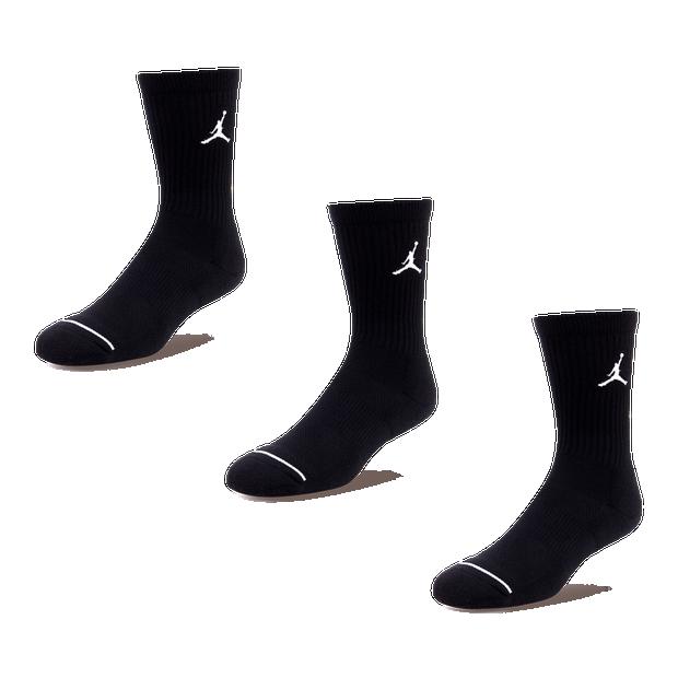 Jordan Jumpman 3-Pack Crew Sock - Unisex Socks