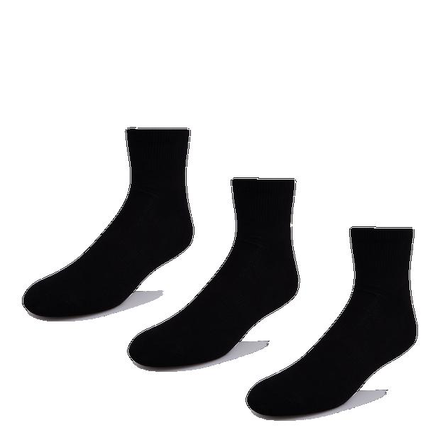 Foot Locker 3 Pack Active Dry Quarter - Unisex Socks