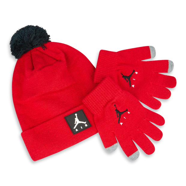 Jordan Kids Beanie&gloves Set - Unisex Knitted Hats & Beanies