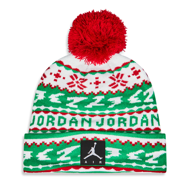 Jordan Kids X-mas Pom Beanie - Unisex Knitted Hats & Beanies