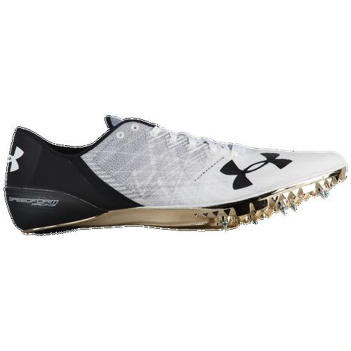 Under Armour Speedform Sprint Pro 2 - Men's - Track & Field - Shoes - Steel/ White/Black