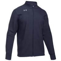 Under Armour Team Barrage Softshell Jacket - Men's - Navy / Grey