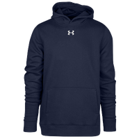 Under Armour Team Hustle Fleece Hoodie - Boys' Grade School - Navy / Navy