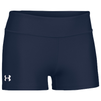 "Under Armour Team on the Court 3"" Shorts - Women's - Navy / Navy"
