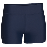 "Under Armour Team on the Court 4"" Shorts - Women's - Navy / Navy"