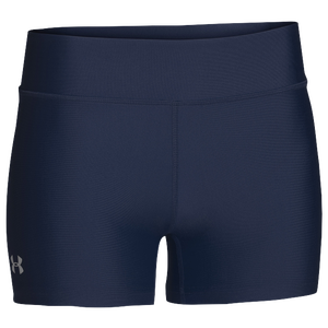 "Under Armour Team on the Court 4"" Shorts - Women's - Navy/White"