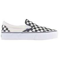 black and white checkerboard vans