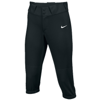 Nike Team Diamond Invader 3/4 Pants - Women's - All Black / Black