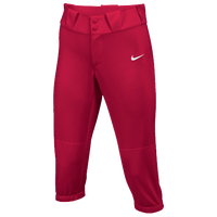 Nike Team Diamond Invader 3/4 Pants - Women's - Red / Red