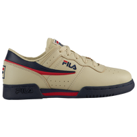 Fila Original Fitness - Boys' Grade School - Off-White / Navy